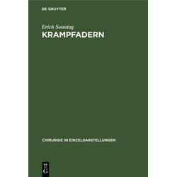 Krampfadern als Buch von Erich Sonntag