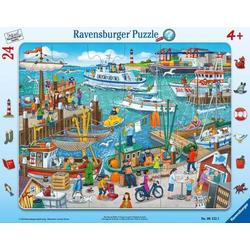 Ravensburger 06152 Puzzle: Ein Tag am Hafen 24 Teile 6152