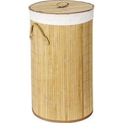Wenko Wäschetruhe Bamboo Natur, Wäschekorb