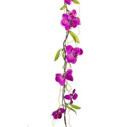 Kunstranke Orchideengirlande Orchidee, Botanic-Haus, Höhe 7 cm