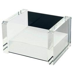 WEDO Zettelbox Acryl Exklusiv glasklar