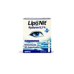 Lipo Nit GEL-Augentropfen 0,3% Hyaluron (30x 0,4ml)