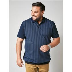 Poloshirt Men Plus Marineblau