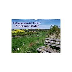 Entdeckungen im Tal der Zwickauer Mulde (Wandkalender 2021 DIN A3 quer)