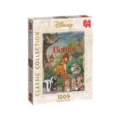 JUMBO Disney Bambi Movie Poster Puzzle Mehrfarbig