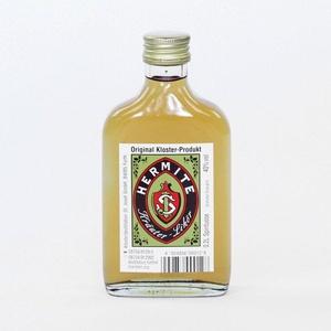 Hermite - Kräuterlikör 40% - 0,2L - 30 edle Pflanzen, Kräuter und Wurzeln aus dem Klostergarten