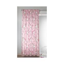 Vorhang Vorhang Einhorn, blickdicht, 245 x 135 cm, Albani