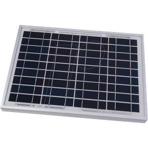 SOL10P - Solarpanel, 10 W, 12V