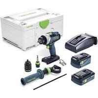 Festool Akku-Bohrschrauber QUADRIVE TDC 18/4 5,2/4,0 I-Plus