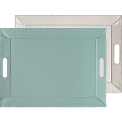 freeform Tablett, 55 x 41 cm grau Tischaccessoires Geschirr, Porzellan Haushaltswaren Tablett