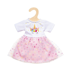 Heless Puppenkleidung Puppen-Einhorn-Kleid Hannah, Gr. 35-45 cm
