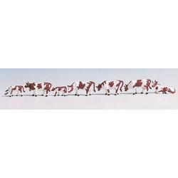 NOCH 36723 Figuren  Kühe, braun/weiß