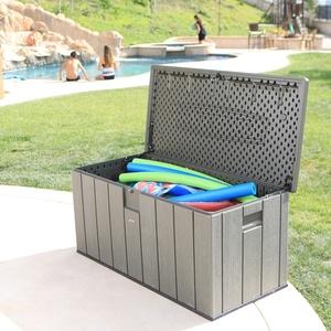 Lifetime Premium Kissenbox, Gartenbox und Auflagenbox,dunkelgrau,72 x 151 x 69 cm (L x B x H)