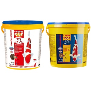 sera Koi Professional Spirulina-Farbfutter 7 kg & Koi Professional Sommerfutter 7 kg