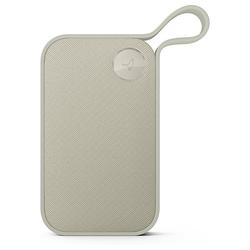 Libratone Libratone One Style Bluetooth Lautsprecher wolkig grau IPX4 Spritzwassergeschützt Lautsprecher grau