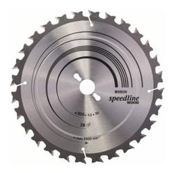 Bosch Kreissägeblatt Speedline Wood 300 x 30 x 3,2 mm 28