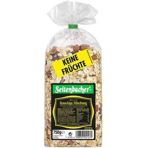 Seitenbacher Müsli Knackige Mischung, Keine Früchte, 750g