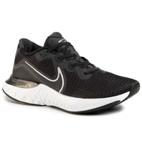 Nike Renew Run M black/white/dark smoke grey/metallic silver 44,5