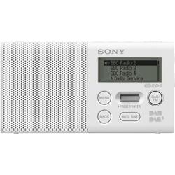 Sony Radio Pocket-Radio, XDR-P1DBPW mit DAB weiß