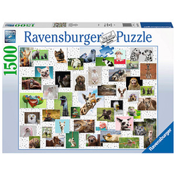 Ravensburger Funny Animals Collage Puzzle 1500 Teile