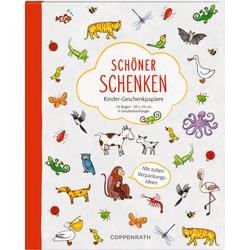 Geschenkpapierbuch - Schöner schenken - Kinder-Geschenkpapiere