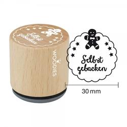 Woodies Stempel - Selbst gebacken W07001