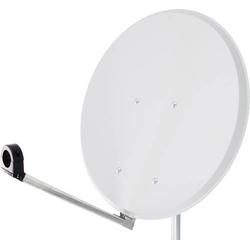 Smart Click-Clack SAT Antenne 65cm Reflektormaterial: Stahl Weiß