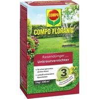 Floranid Rasendünger plus Unkrautvernichter 3 kg