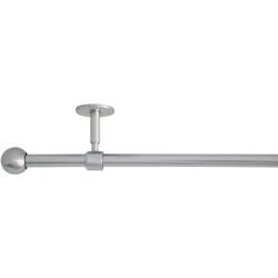 Gardinenstange 2in1, mydeco, Ø 19 mm, 1-läufig, Fixmaß Ø 19 mm x 160 cm - 280 cm