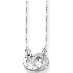Thomas Sabo Collier - Diamant weiß D_KE0005-725-14-L45v Damenhalskette