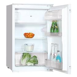PKM Einbaukühlschrank KS120.4 EB, 87 cm hoch, 54 cm breit, mit Gefrierfach Schleppscharnier 118 Liter E