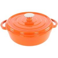 Cuisinova Bratpfanne, Gusseisen orange