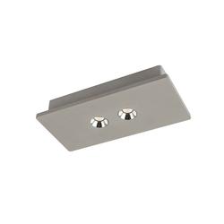 Licht-Trend Deckenleuchte LED Beton Macae Grau