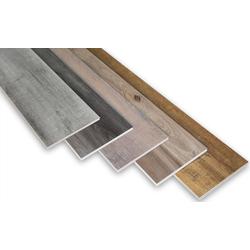 SPC MUSTER Stücke Vinylboden Bodenbelag mit 4F Klick System 20cm (Farbe: PS17)