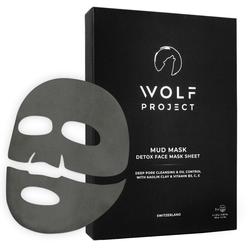 Wolf Project Wolf Project Schlamm-Masken für Männer (5er-Pack)