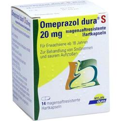Omeprazol dura S 20mg