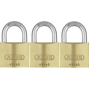 ABUS ABVS11825 Vorhängeschloss 39mm gleichschließend Schlüsselschloss