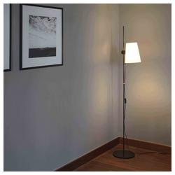 FARO Barcelona Stehlampe Lupe 150cm Schwarz ohne Schirm