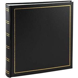 Tradition Fotoalbum in 30x30 cm 100 Seiten Jumbo Fotoalbum Buchalbum: Farbe: Schwarz