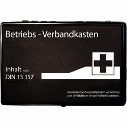 HYGOSTAR® Regular Verbandskasten gem. DIN 13157 - Typ C (klein), Verbandskasten für eine schnelle Hilfe im Notfall, schwarz
