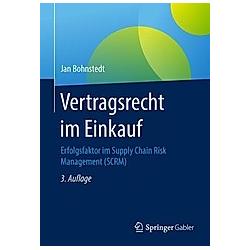 Vertragsrecht im Einkauf. Jan Bohnstedt  - Buch