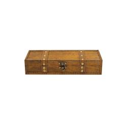 HTI-Living Holzkiste Truhenbox, Holz Truhenverschluss antik, Kiste