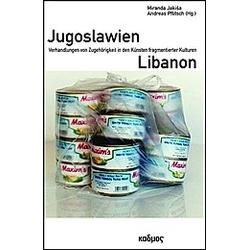 Jugoslawien - Libanon - Buch