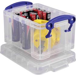 Really Useful Box Aufbewahrungsbox 0.3C Transparent 0.3l (B x H x T) 120 x 65 x 85mm