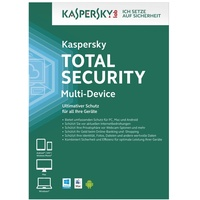 Kaspersky Lab Total Security 2020 3 Geräte 2 Jahre ESD DE Win Mac Android iOS