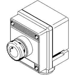 Stahl Pilzsperrtaster NotAus EEx 690V/AC,16A,IP66,rot 8040/1180X