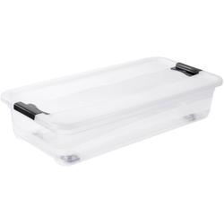 keeeper Aufbewahrungsbox konrad, mit Rollen, 33 Liter farblos Boxen Truhen, Kisten Körbe Schlafzimmer Aufbewahrungsboxen