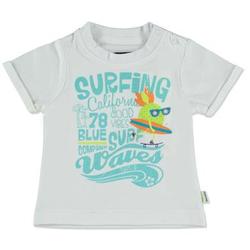 BLUE SEVEN Boys T-Shirt Surfing weiß