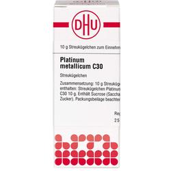 PLATINUM METALLICUM C 30 Globuli 10 g