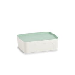 HTI-Living Aufbewahrungsbox Aufbewahrungsbox mit Deckel, Aufbewahrungsbox 44 cm x 14 cm